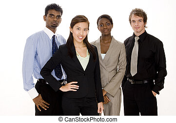 группа, бизнес, команда