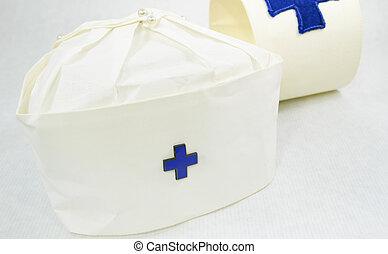 группа, кепка, рука, марочный, медсестра