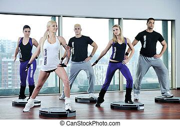 группа, фитнес