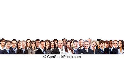 группа, of, бизнес, люди