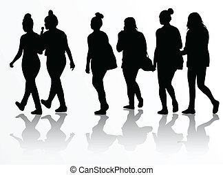группа, of, женщины