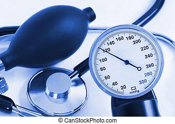 давление, масштаб, стетоскоп