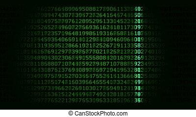 данные, сканирование, петля