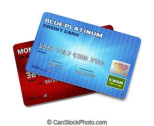 два, кредит, cards