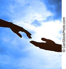 два, руки