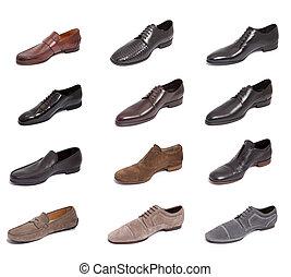 двенадцать, люди, обувь