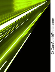 движение, зеленый