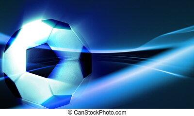 движение, мяч, 3d