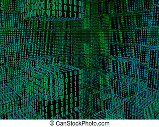 двоичный, cubes, задний план