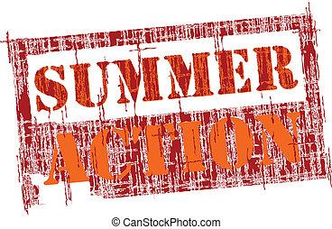 действие, лето