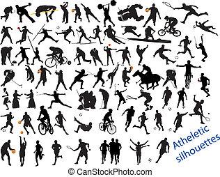 действие, уплотненный, виды спорта