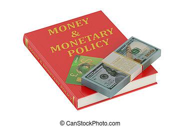денежный, деньги, концепция, политика