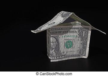 деньги, дом