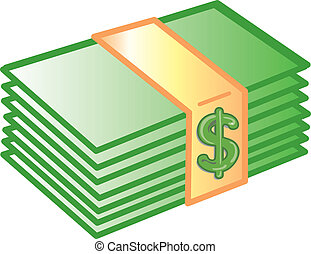 деньги, значок