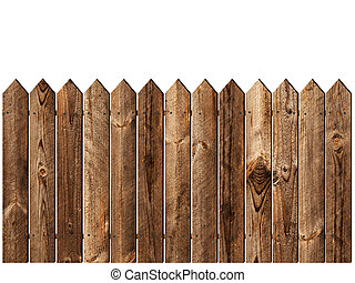 деревянный, забор