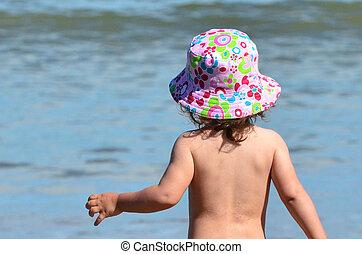 детка, -, детство, море