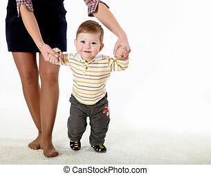 детка, как, немного, learning, ходить