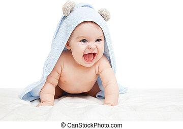 детка, смеющийся
