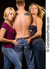 джинсовый, коммерческая