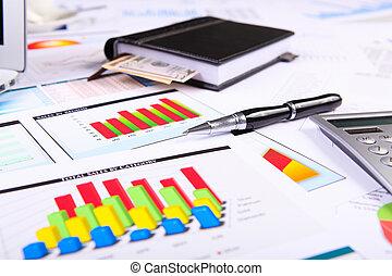 диаграммы, charts, бизнес, table.