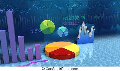 диаграммы, charts, петля