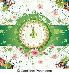 дизайн, часы