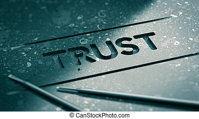 доверять, концепция