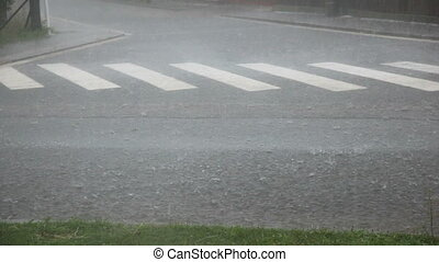 дождь, and, град