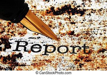 доклад, ручка, фонтан