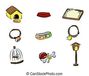 домашнее животное, icons
