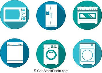домашнее хозяйство, дизайн, icons