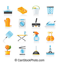 домашнее хозяйство, objects, инструменты, icons