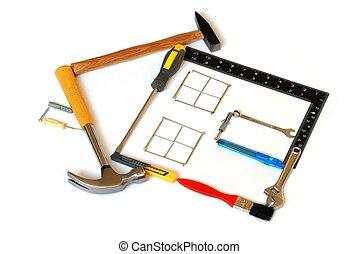 дом, инструменты