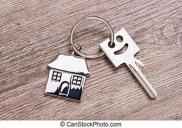 дом, ключ