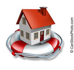дом, страхование