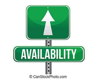 доступность, дорога, знак, иллюстрация, дизайн