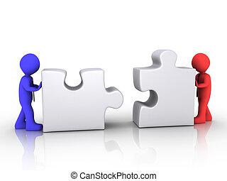 другой, businessmen, объединяться