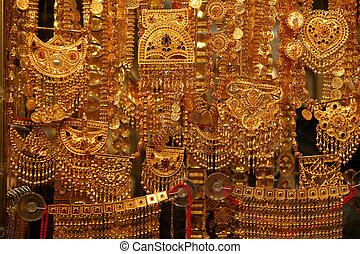 единый, рынок, ювелирные изделия, золото, продажа, короткая,...
