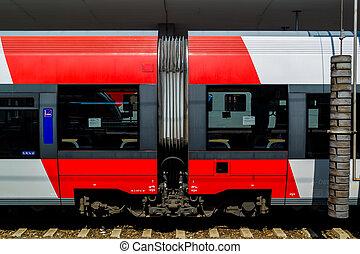 железнодорожный, будущее, рельс