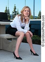 женщина, бизнес