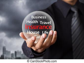 жизнь, концепция, страхование