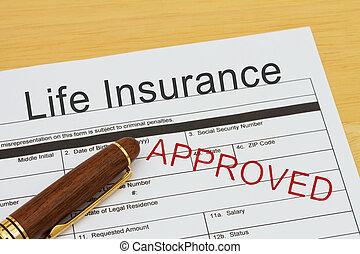 жизнь, applying, утвержденный, страхование