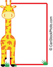 жирафа, copyspace