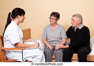 забота, of, пациент