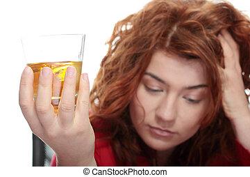 зависимость, алкоголь