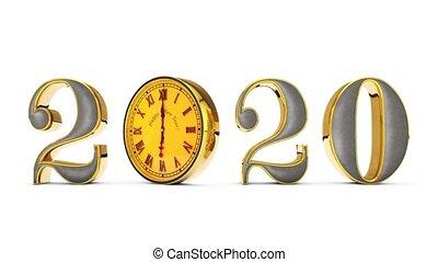 задний план, дата, изменения, номер, вокруг, вращать,...