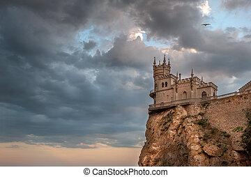 замок, swallow's, гнездо, в, большой, ялта, 4