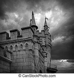 замок, swallow's, гнездо, в, большой, ялта, 9