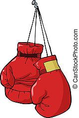 заниматься боксом, gloves