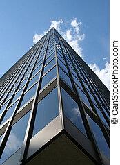 здание, абстрактные, офис